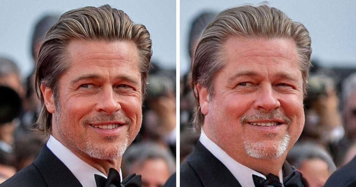 Новый фильтр в FaceApp делает лицо на фото толстым и наоборот. И вот как выглядели бы звёзды, набери они 20 кг
