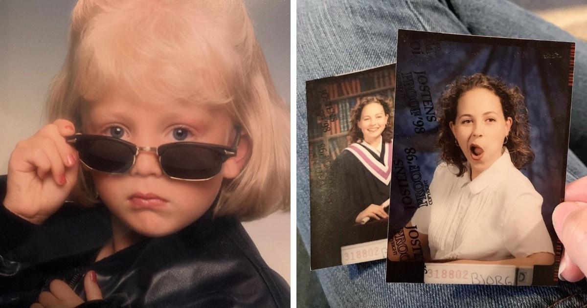 18 забавных фотографий из семейных альбомов, которые благодаря своей неловкости стали только круче