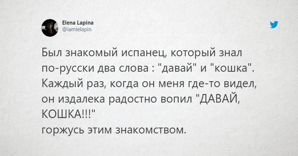 «Метнись кабанчиком»: в сети делятся необычными фразами на русском, которые запомнили их друзья-иностранцы