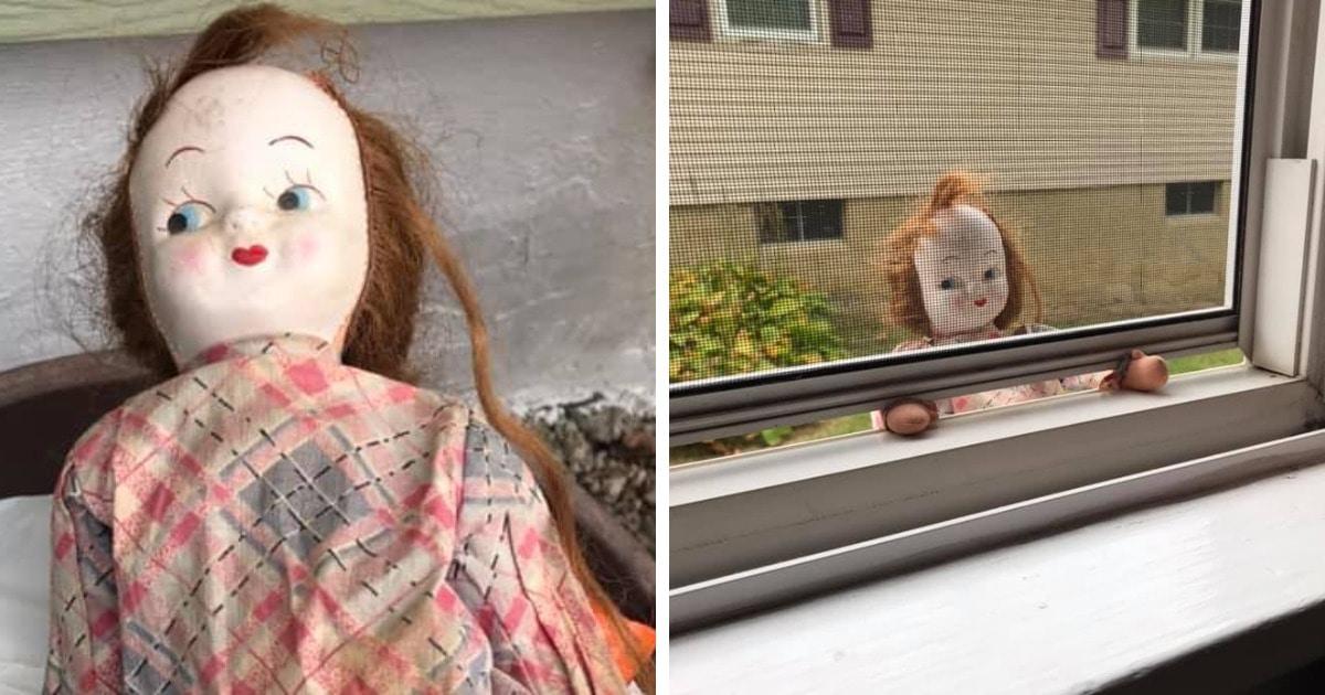 Девушка нашла в доме 19 века старую куклу и тут же выбросила. Кукла вернулась в дом, но мистика тут ни при чём