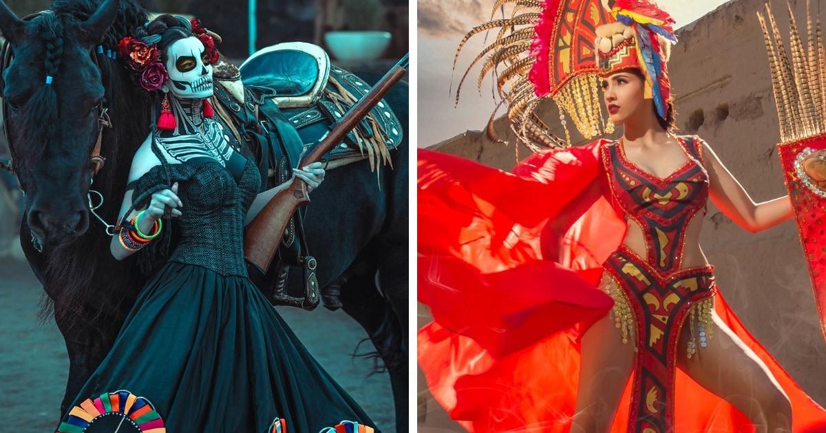 Участницы конкурса «Мисс Мексика» показали национальные костюмы и покорили интернет. Это чистый восторг!