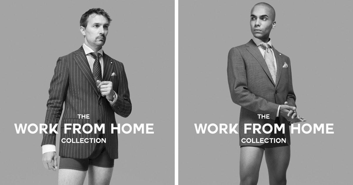 Канадский бренд предложил коллекцию одежды для работы из дома. И она придумана в лучших традициях карантина