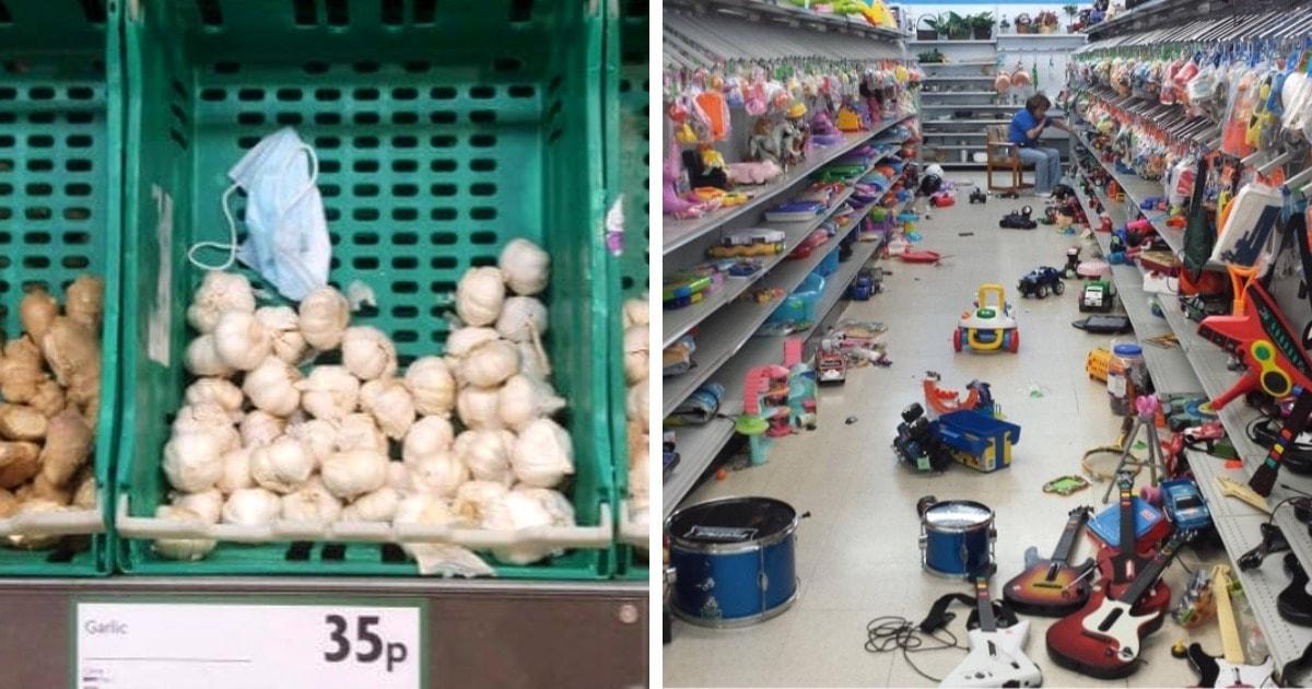 20 раздражающих случаев, когда негодяйские поступки людей в магазине были способны вывести из себя любого