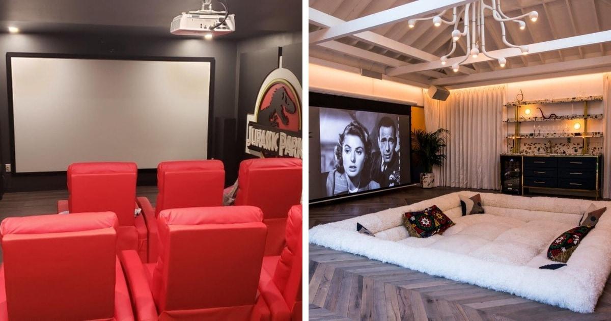 15 крутейших домашних кинотеатров, сделанных своими руками, которыми похвастались пользователи сети