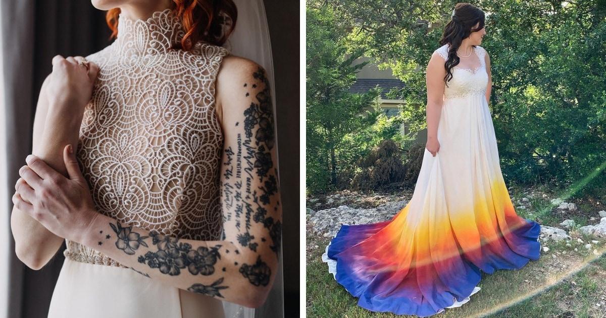 18 невест, которые решили самостоятельно сшить свадебные платья и не прогадали. Результат выше всех похвал!