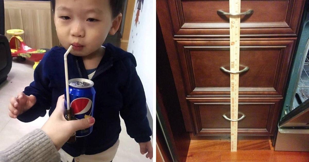 15 случаев, когда родители проявили смекалочку и придумали оригинальные способы для решения детских проблем