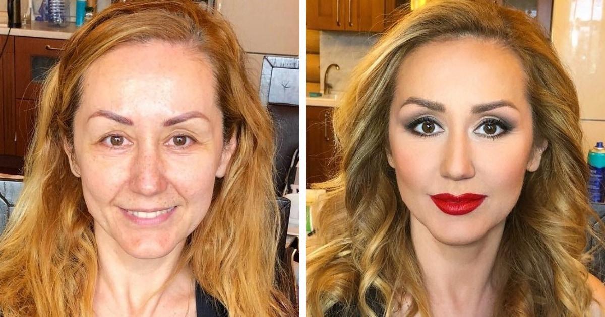 18 работ российского визажиста, которые доказывают, что хороший макияж может украсить любую женщину