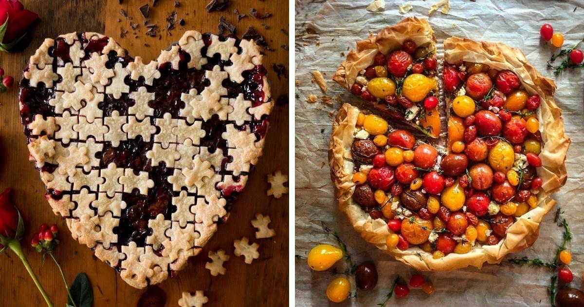 15 кулинарных шедевров от пекаря-самоучки, чьи пироги можно смело предлагать всем, кто хочет и хлеба, и зрелищ