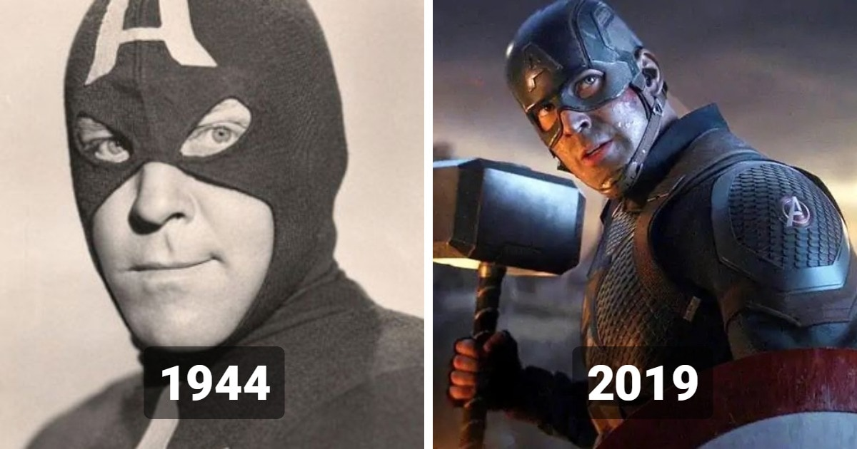 Как изменились комиксовые супергерои и суперзлодеи в кино: самые первые воплощения VS самые последние