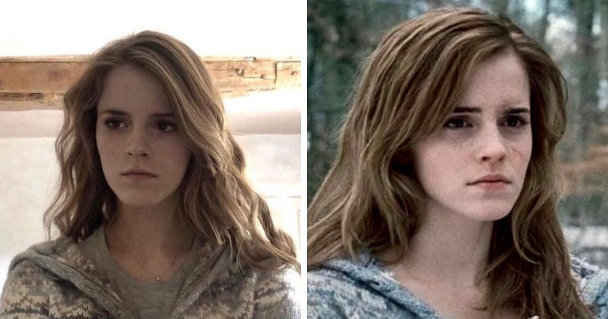 Девушка похожа на Эмму Уотсон, и они выглядят как близнецы. В сети уже придумали, как использовать их сходство