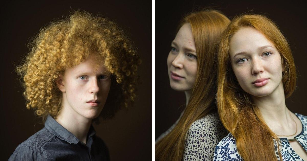 Фотограф из Шотландии 7 лет снимал рыжих людей по всему миру и показал их особую красоту и необычность
