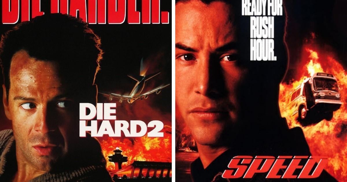 16 пар похожих друг на друга постеров фильмов, которые доказывают, что в мире кино очень любят списывать