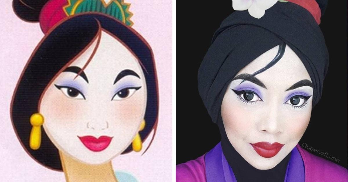 Девушка из Малайзии косплеит известных персонажей, не снимая хиджаба. И он делает её образы только круче!