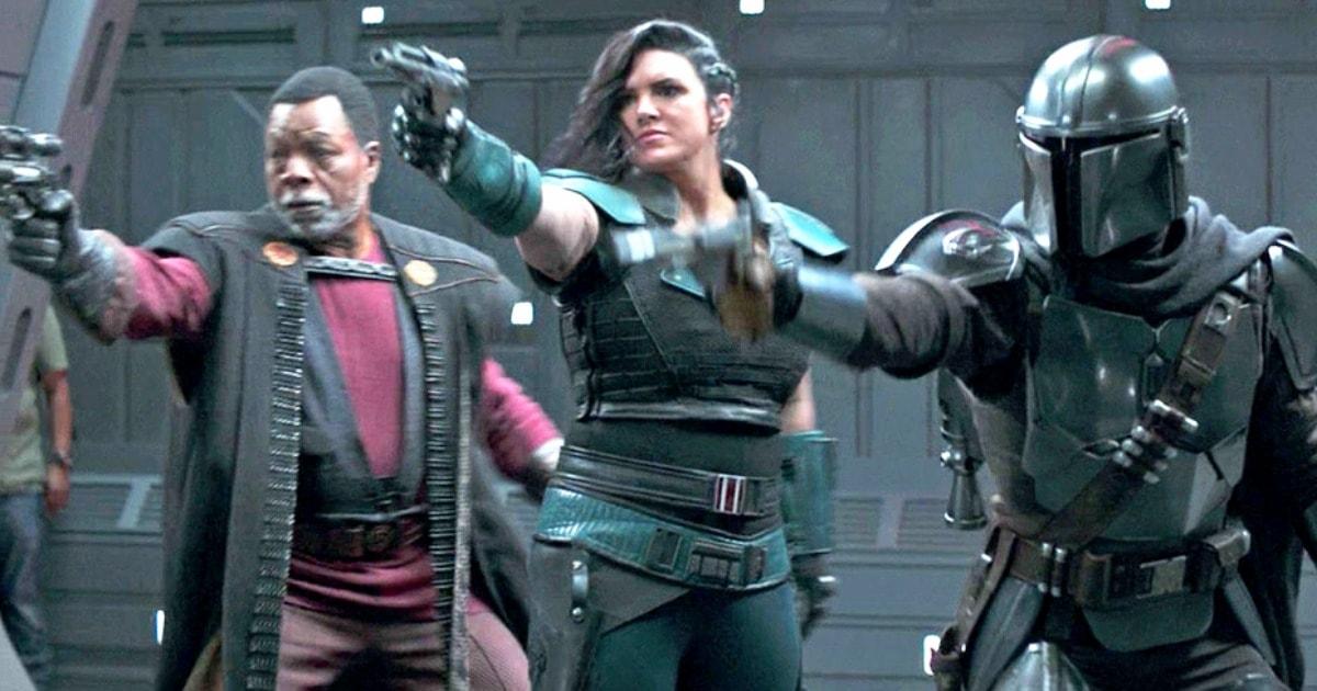 В эпизоде сериала «Мандарлорец» в кадр попал член съёмочной бригады. Фанаты в шутку превратили его в персонажа