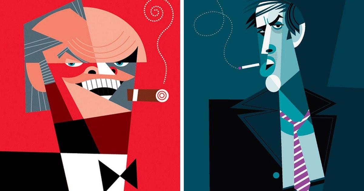 Тест: Сможете ли вы угадать актёров и актрис по их карикатурным портретам?