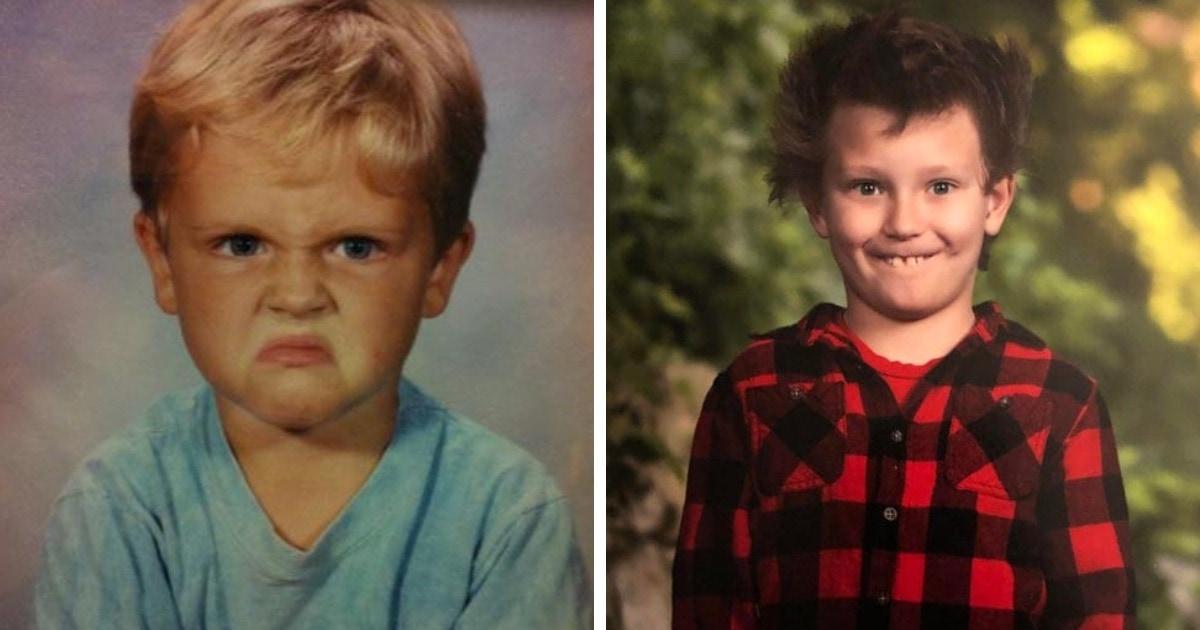 17 неловких фотографий из школьных альбомов, которые стали поводом для стыда и смеха