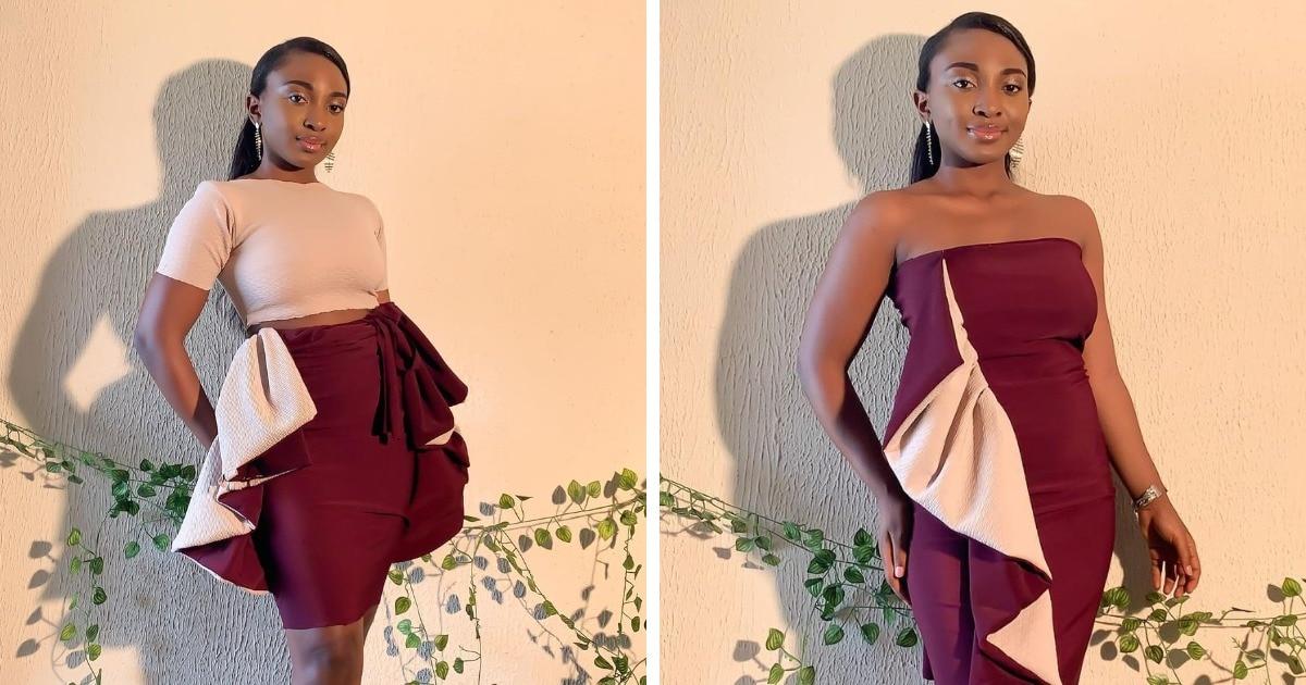 На любой случай: девушка из Нигерии шьёт наряды-трансформеры, которые скрывают сразу несколько платьев в одном