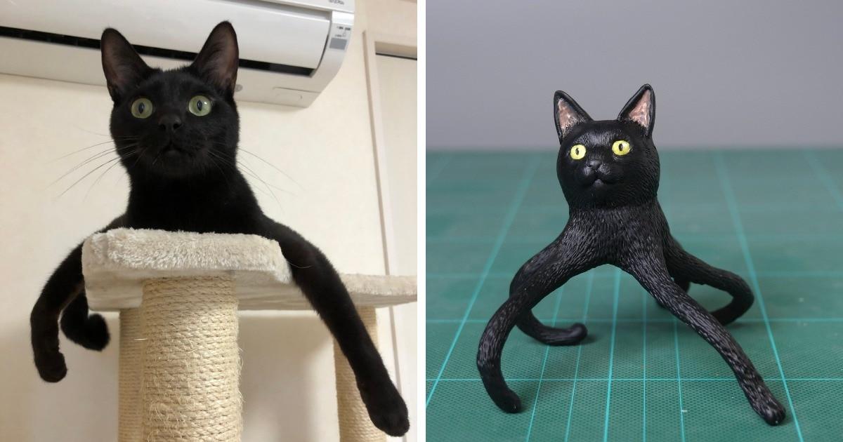 Японец создаёт фигурки мемных животных, и в его работах ещё больше чудачества, чем на самих снимках