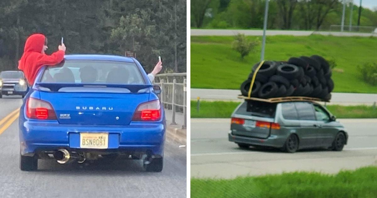 18 случаев, когда водителям явно было плевать на все эти ваши правила дорожного движения