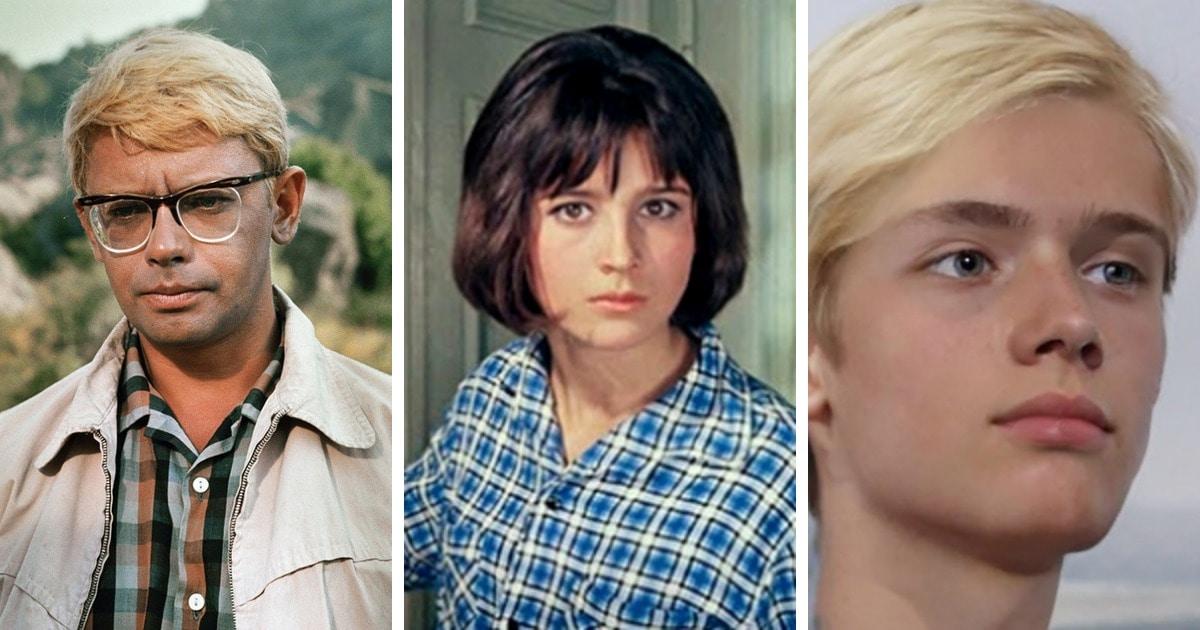 Как бы выглядели дети знаменитых пар из советских фильмов, если бы сюжет предполагал их появление