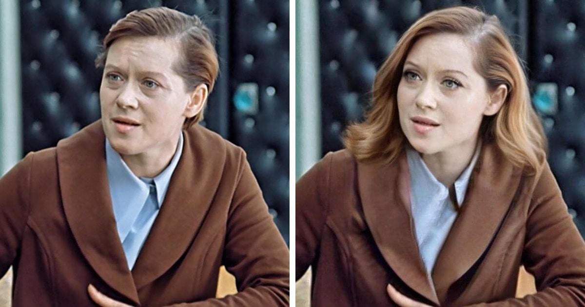Как выглядели бы героини советских фильмов, будь они приближены к современным стандартам красоты