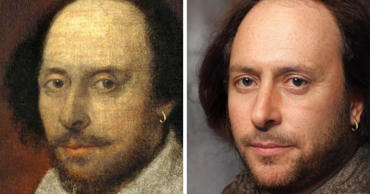 Художник восстанавливает портреты исторических личностей и показывает, как они могли выглядеть на самом деле