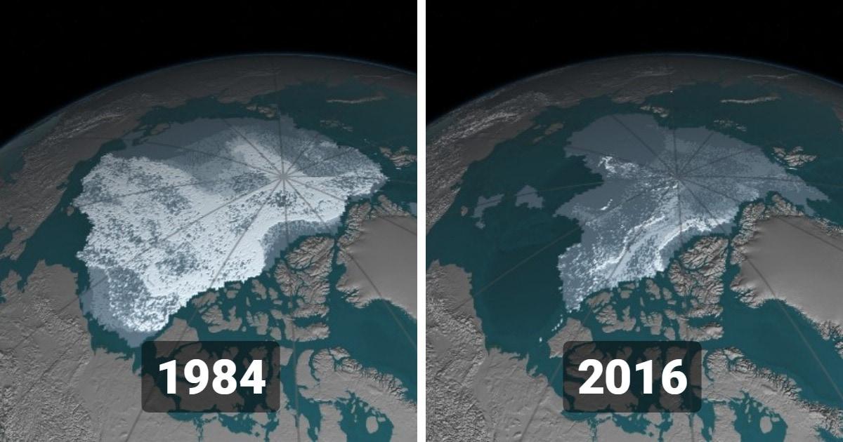 15 снимков со спутников от НАСА, которые показывают, какие изменения происходят на поверхности нашей планеты