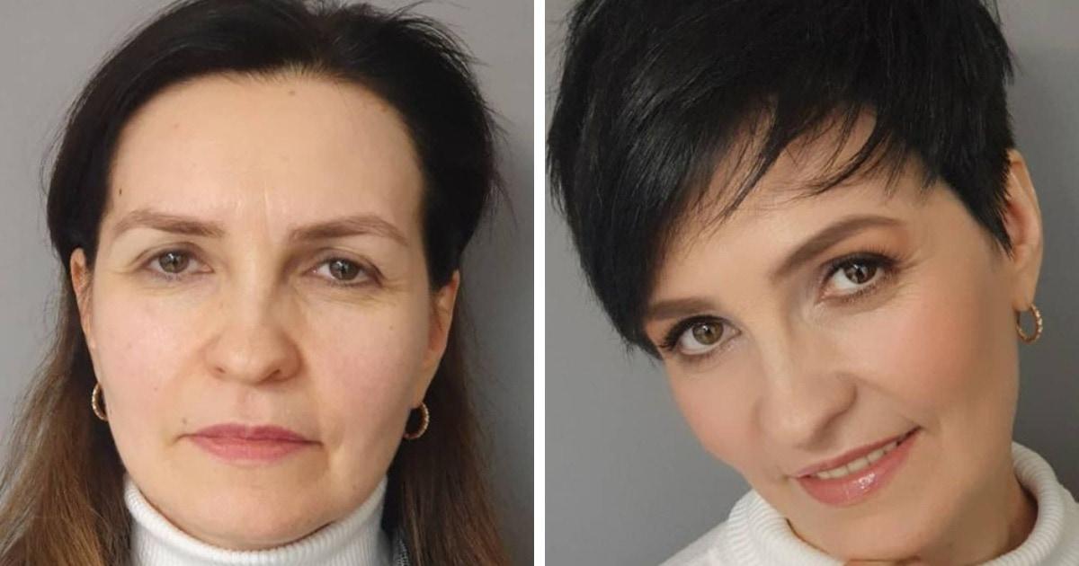 16 работ от визажиста и парикмахера, которые с помощью слепого преображения изменяют женщин до неузнаваемости