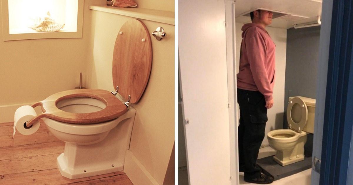 17 странных дизайнов ванных комнат и туалетов, которые были созданы вопреки удобству и здравому смыслу