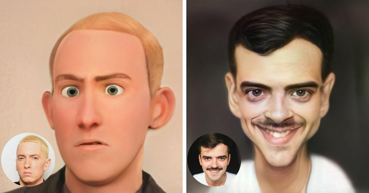 Приложение ToonMe превращает людей на фото в мультяшек, и вот как выглядели бы мультверсии знаменитостей