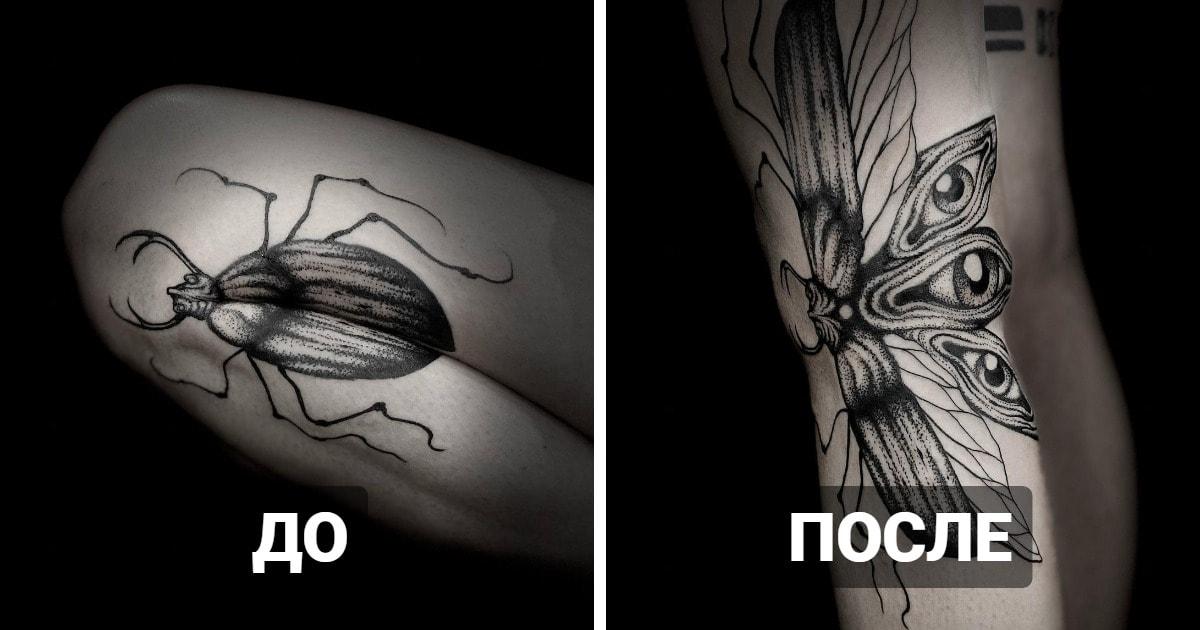 16 удивительных татуировок, которые оживают при движении и открывают свои новые смыслы