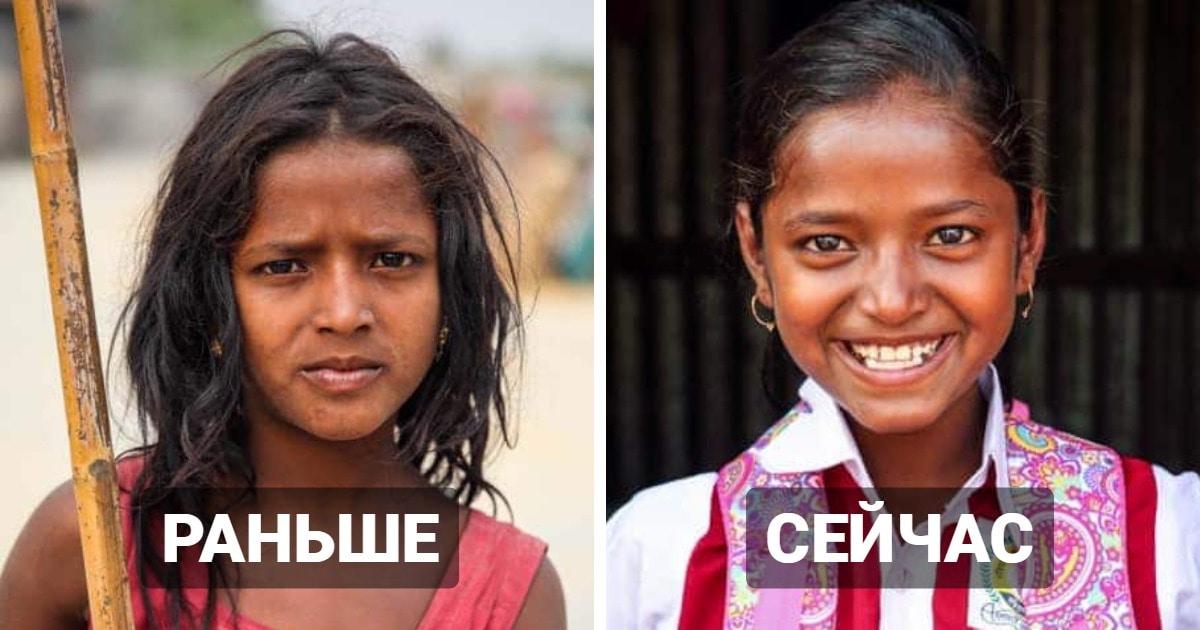 Фотограф из Бангладеш помогает детям из бедных семей пойти в школу и показывает, как это их меняет