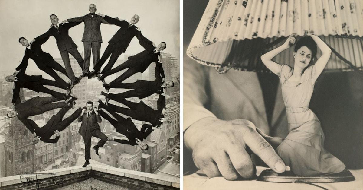 16 удивительных ретрофотографий, авторы которых баловались фотошопом ещё задолго до его появления