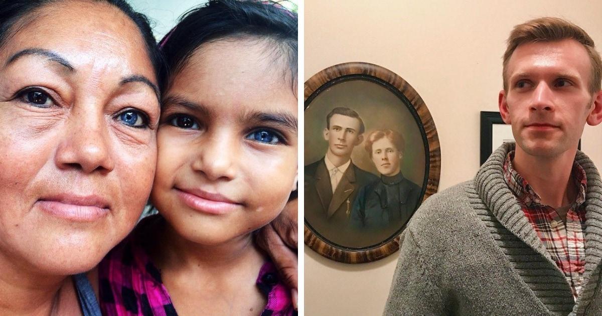 17 интересных случаев, когда родственники оказались настолько похожи друг на друга, что кажутся клонами