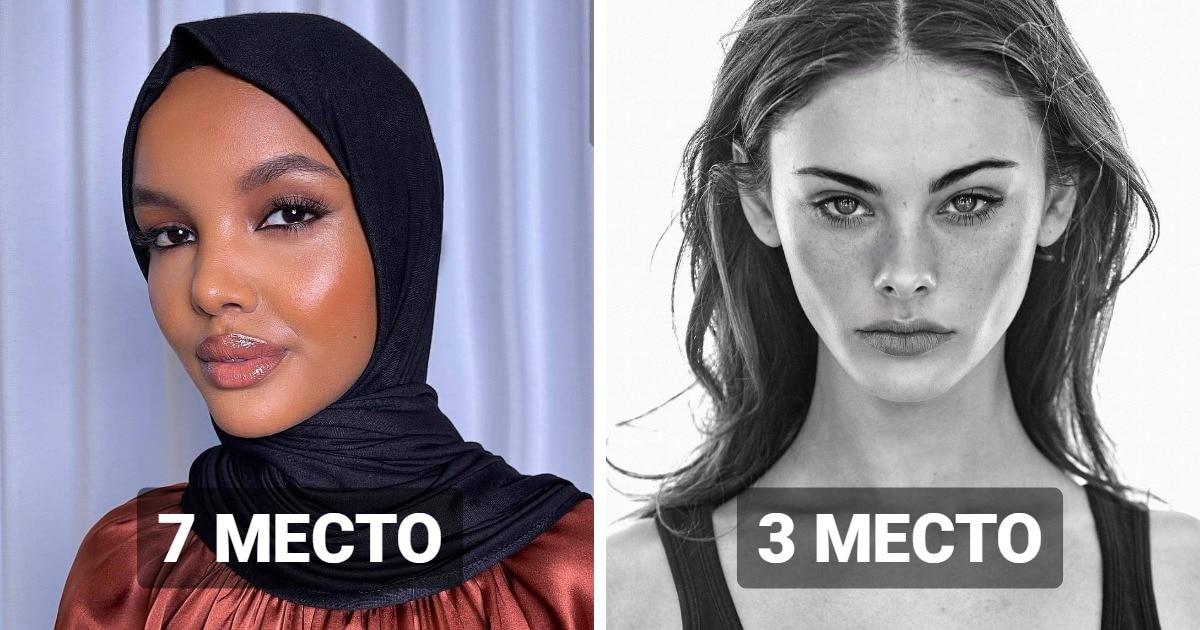 20 известных женщин, чьи лица назвали самыми красивыми в 2020 году