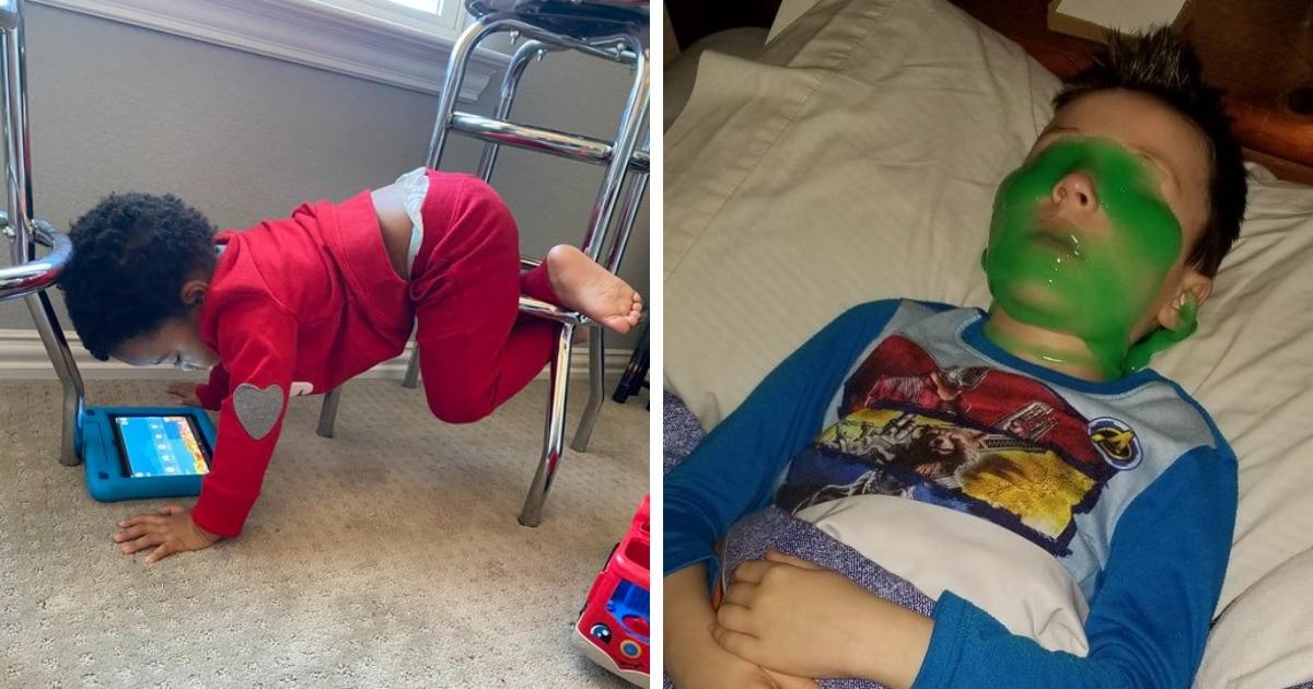 15 крайне забавных случаев, когда дети вели себя слишком странно, но очень смешно