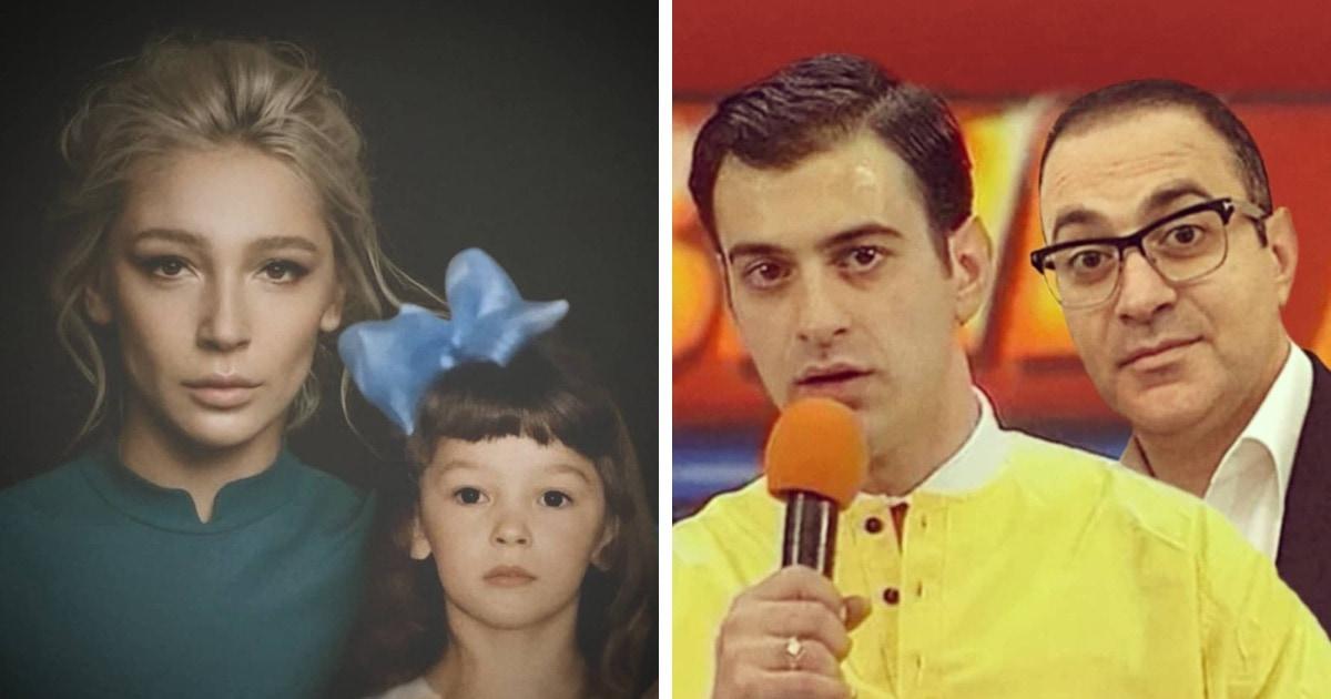 Фотошопер из Казахстана сравнивает звёзд на старых и новых фото, показывая, как они изменились с годами