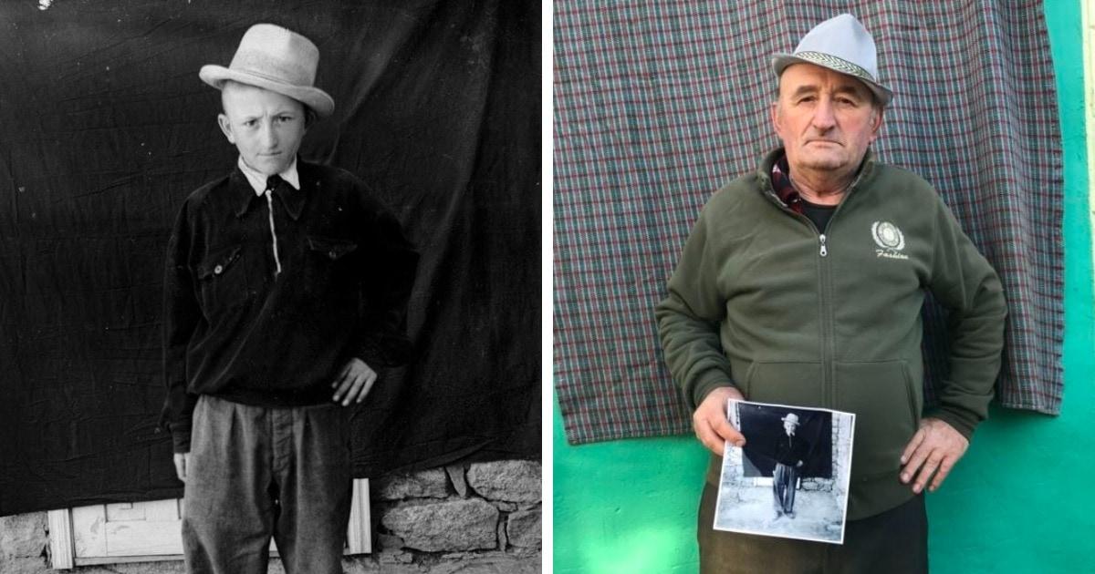 Фотограф нашёл плёнки, сделанные больше полувека назад, отыскал их героев и показал, как они выглядят сейчас