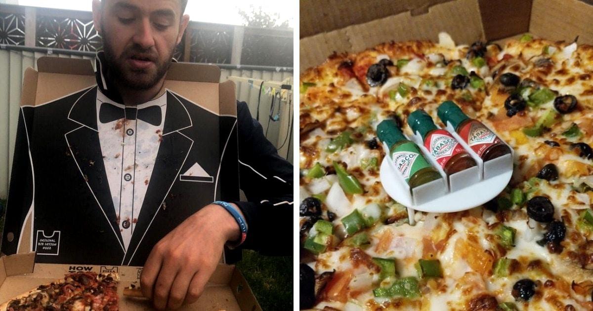 17 случаев, когда с помощью интересных идей пицца превращалась в шедевр человеческой гениальности