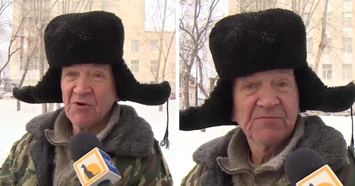 Дворника из Томска спросили о любви и 14 февраля. Ответ с цитатой The Beatles и французским сделал его звездой