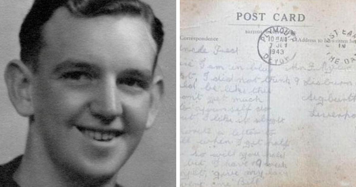Английский солдат отправил письмо с фронта, и оно всё же дошло до его семьи. Правда спустя 78 лет