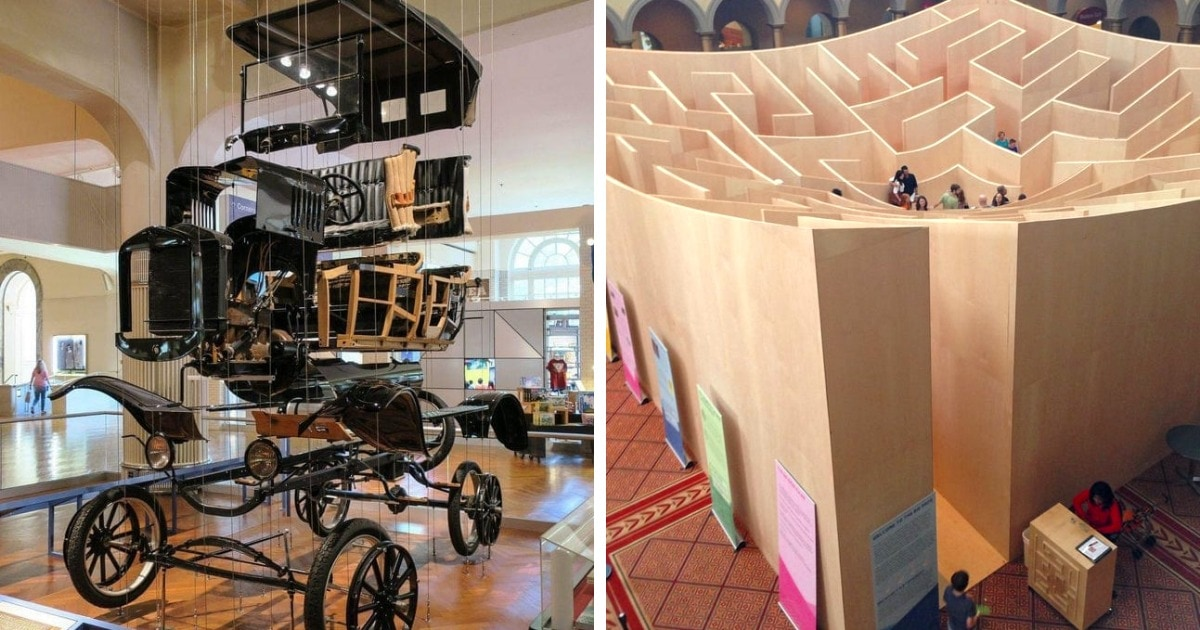 20 крутых фишек из музеев по всему миру, в которых посетителям не бывает скучно