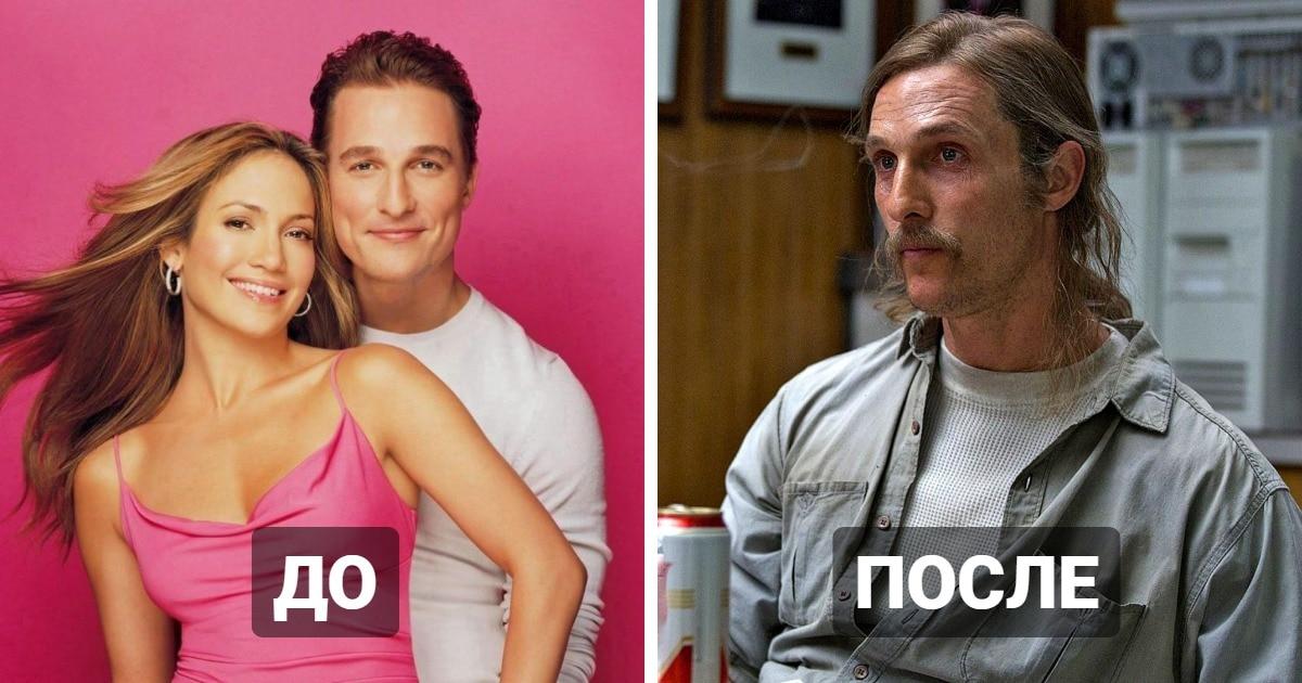 10 актёров, которые сменили амплуа и из мелодрам и комедий перешли в драму. Да так, что все обалдели
