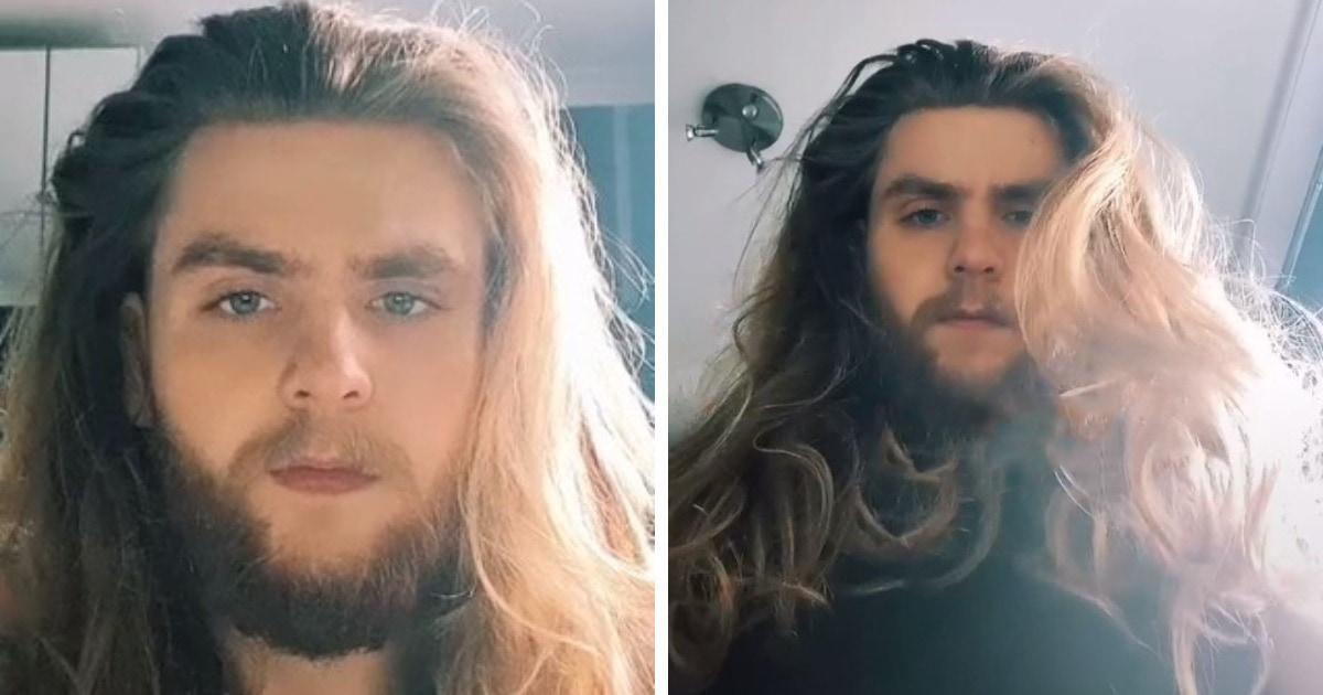 Парень сбрил бороду и показал, как выглядит без неё. Итог преображения посчитали настоящим преступлением