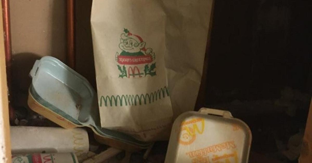 Реддитор нашёл упаковку от Макдоналдса аж 1977 года. И эта находка послужила поводом для жарких споров в сети