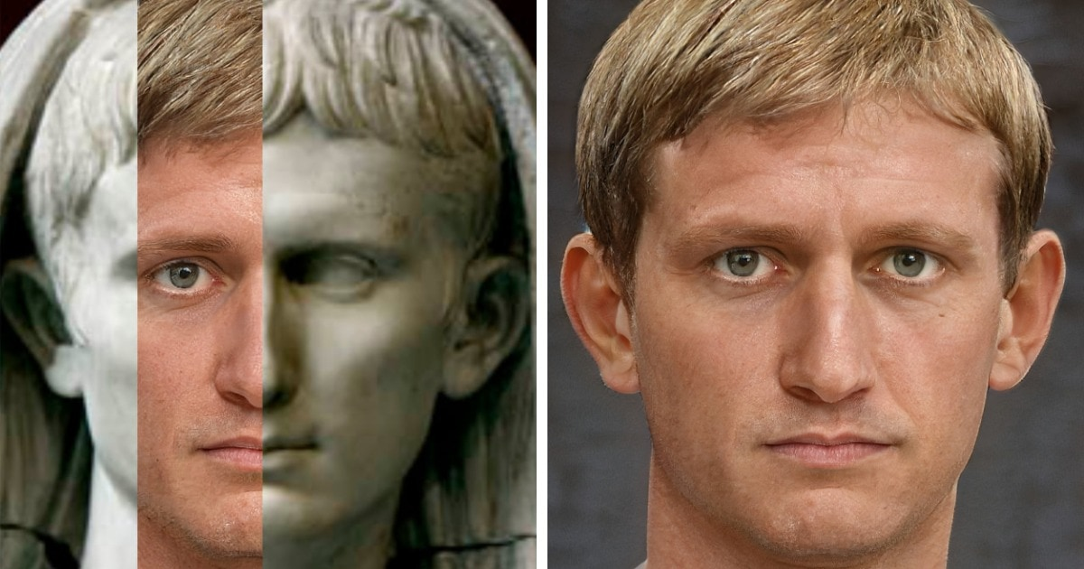 15 работ художника, который очень реалистично показывает, как могли бы выглядеть великие римские императоры