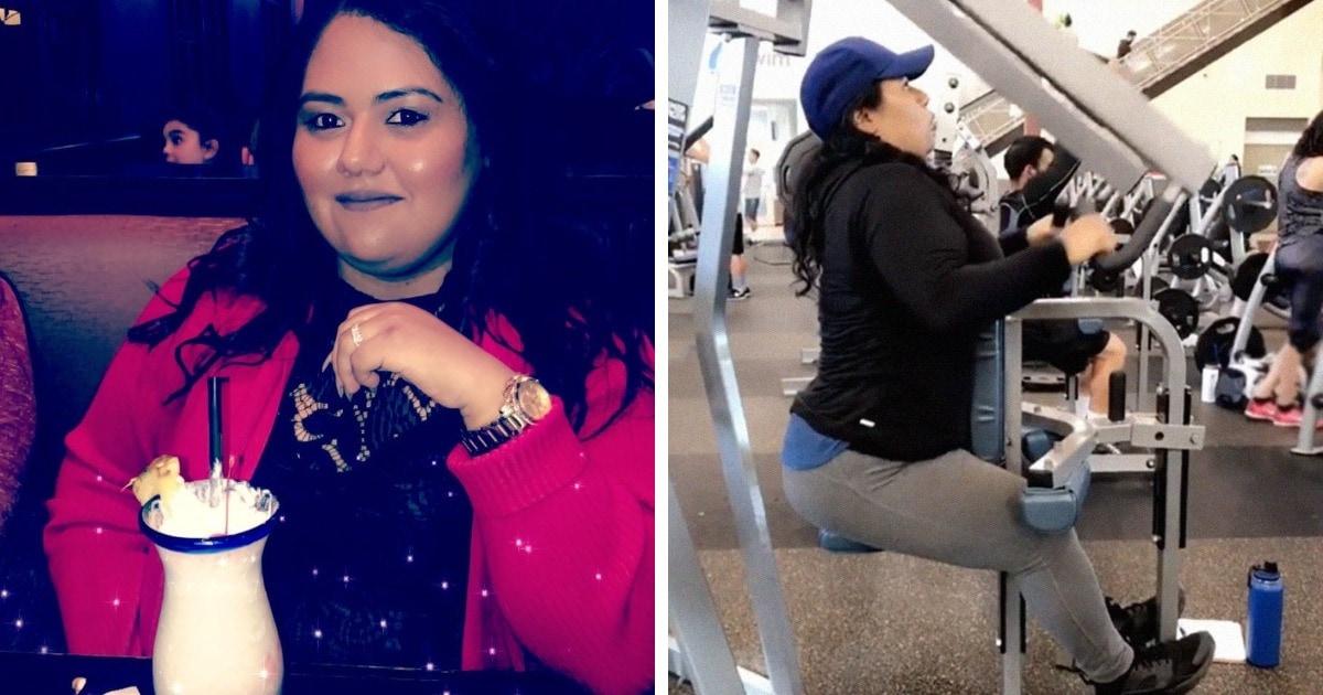Парень расстался с девушкой из-за веса, а она похудела на 65 кг. И такая трансформация заставит его пожалеть