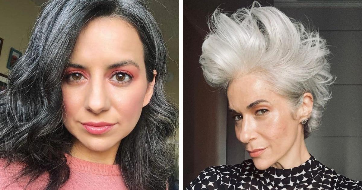 19 женщин, которые перестали красить волосы и свои примером показали, что седина — это невероятно красиво