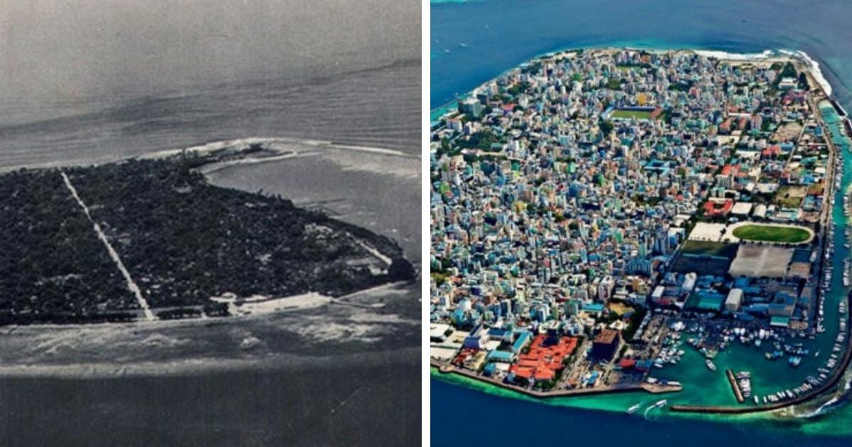 16 фотографий, которые покажут, как время изменило известные места, разделив мир на тогда и сейчас