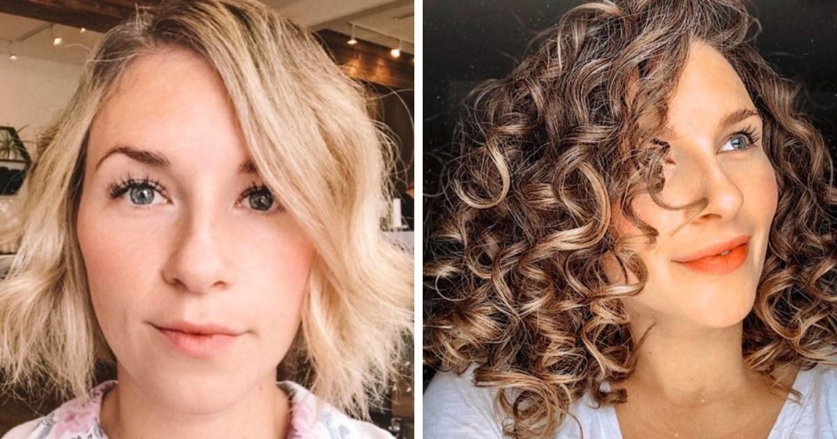 16 людей, которые перестали мучить свои волосы и приняли свои кудряшки, получив результат всем на зависть